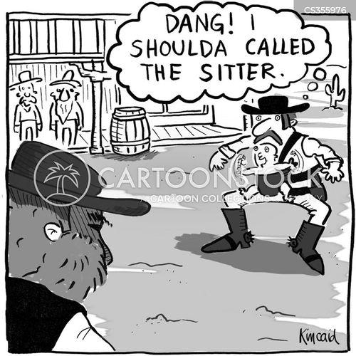baby sitter cartoon