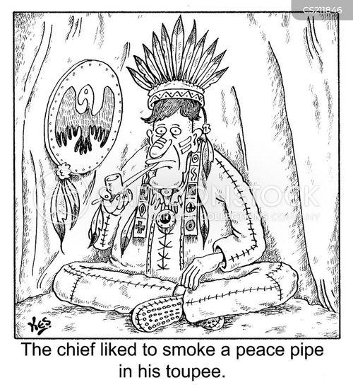 wigwams cartoon