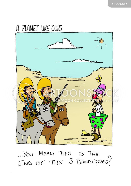 bandido cartoon