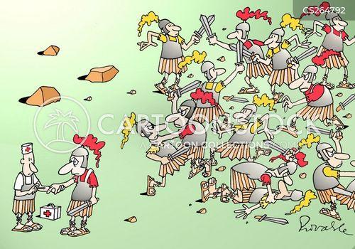 massacred cartoon