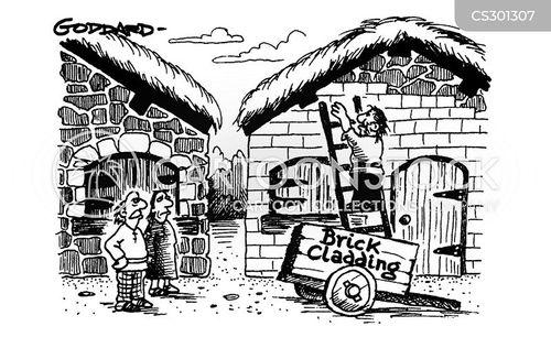 saxon cartoon