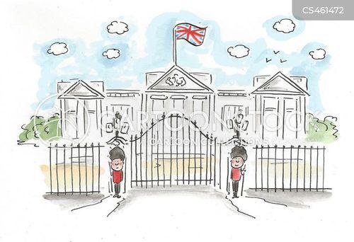 royal palace cartoon