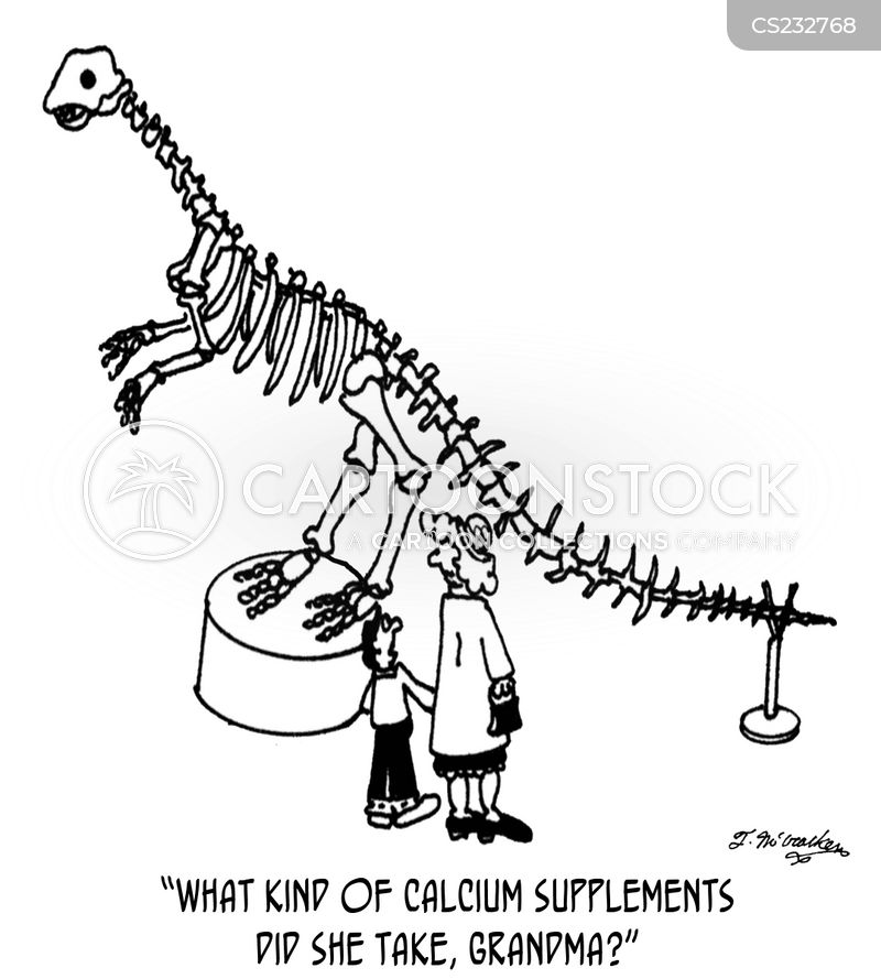 osteoporosis cartoon