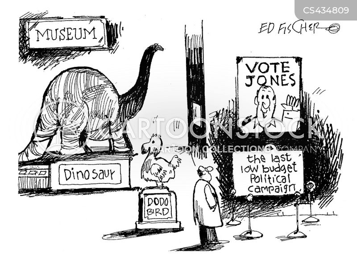 museum exhibitions cartoon