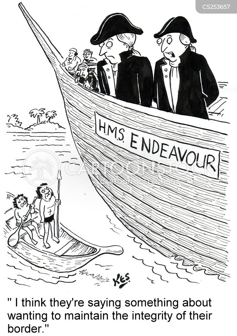 endeavour cartoon