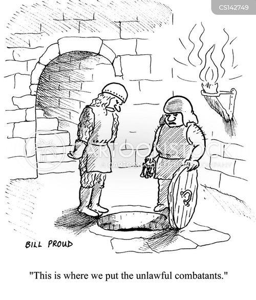 combatants cartoon