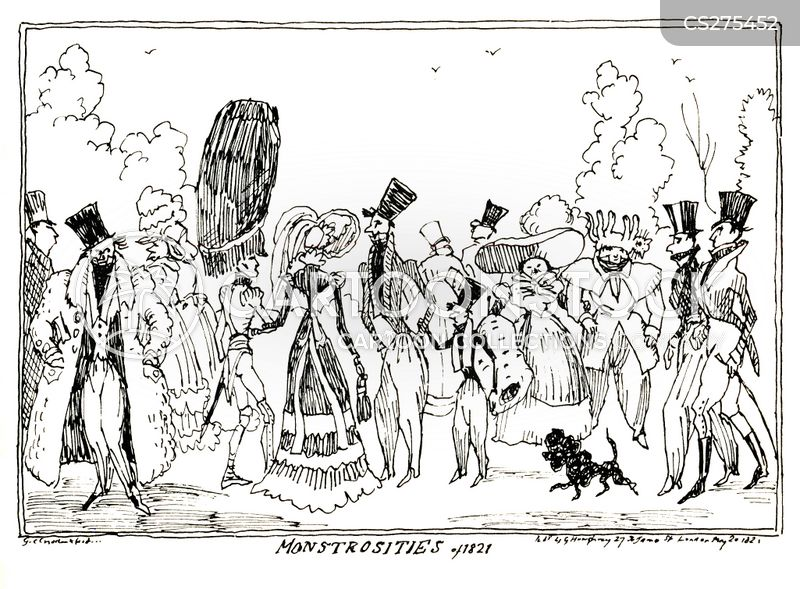 george cruikshank cartoon