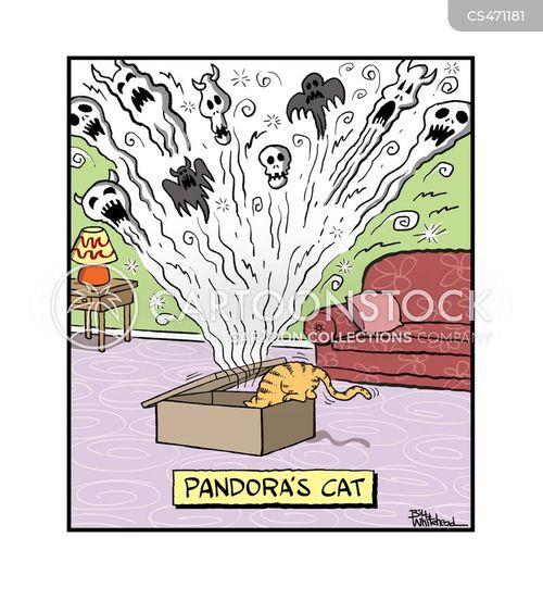 pandoras box cartoon