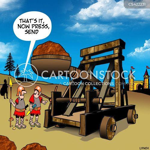 roman soldiers cartoon