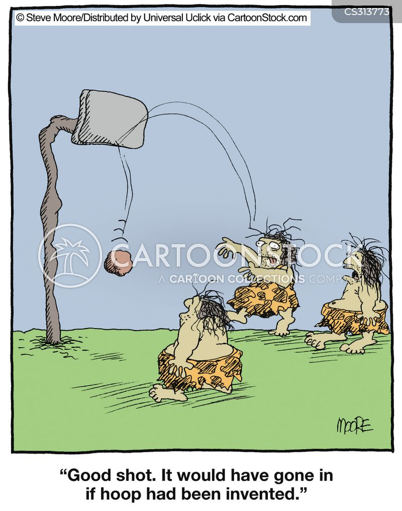 basketball hoop cartoon