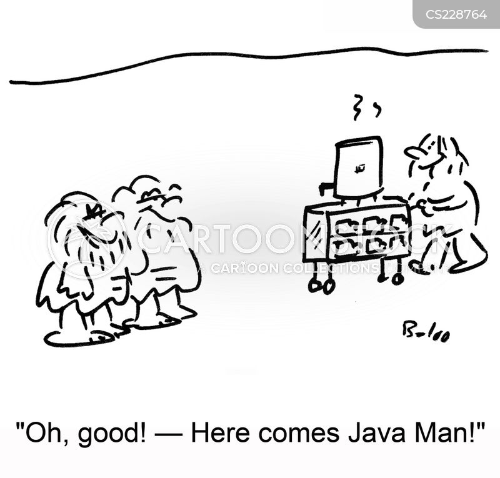 java cartoon