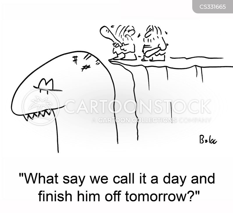 call it a day cartoon