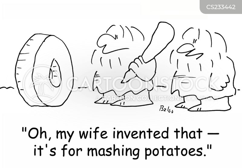 mash potato cartoon