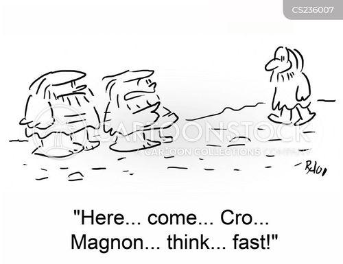 cro-magnons cartoon