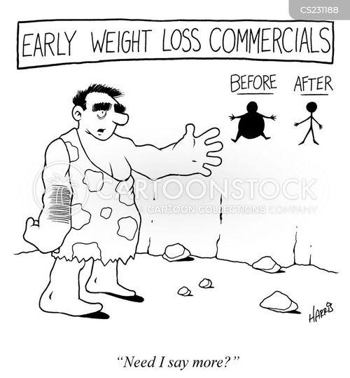 spokesman cartoon