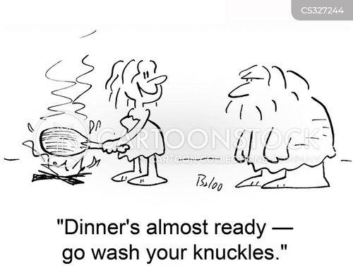 clean hands cartoon