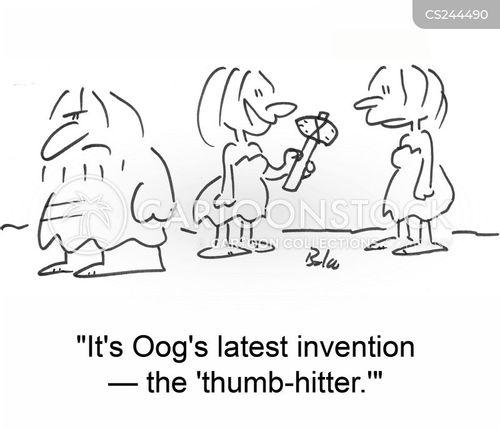 hitter cartoon