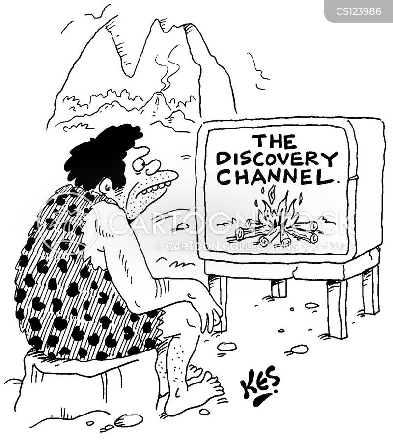discovery channel cartoon
