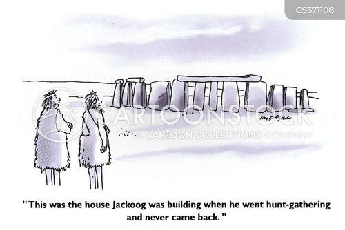 stone henge cartoon
