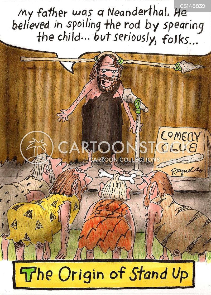Caveman Jokes : Stand up comedy cartoons and comics funny pictures from