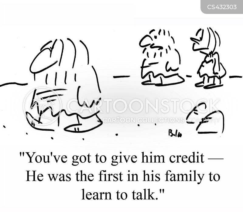 learning to talk cartoon