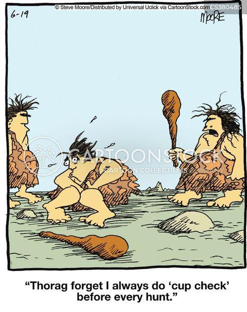 huntsmen cartoon