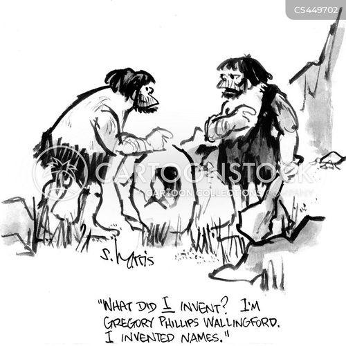 first names cartoon