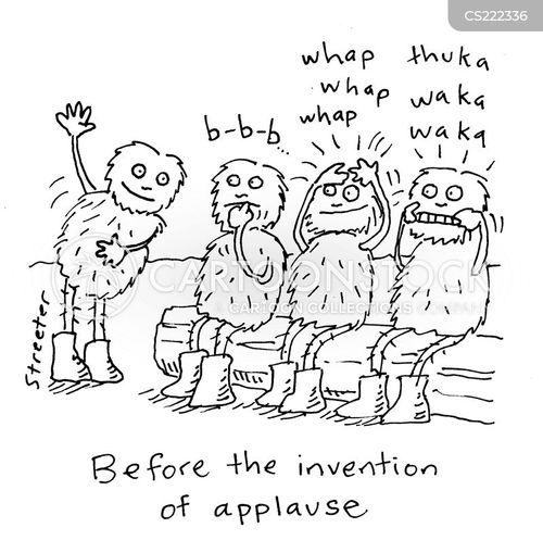 clapping cartoon