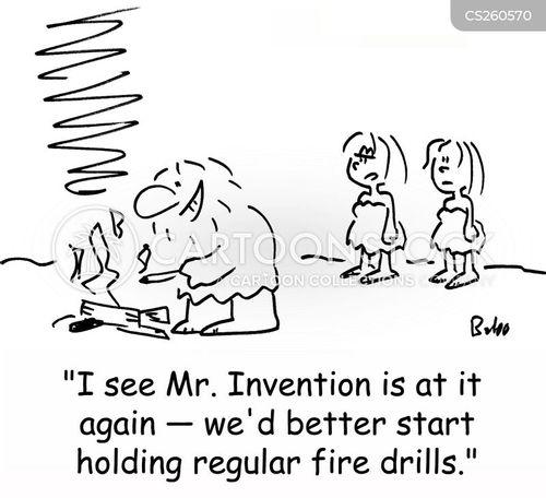 fire escape cartoon