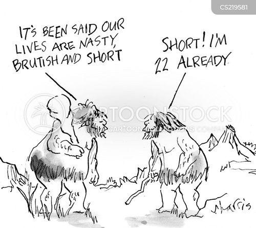 hard life cartoon