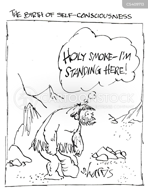 self aware cartoon
