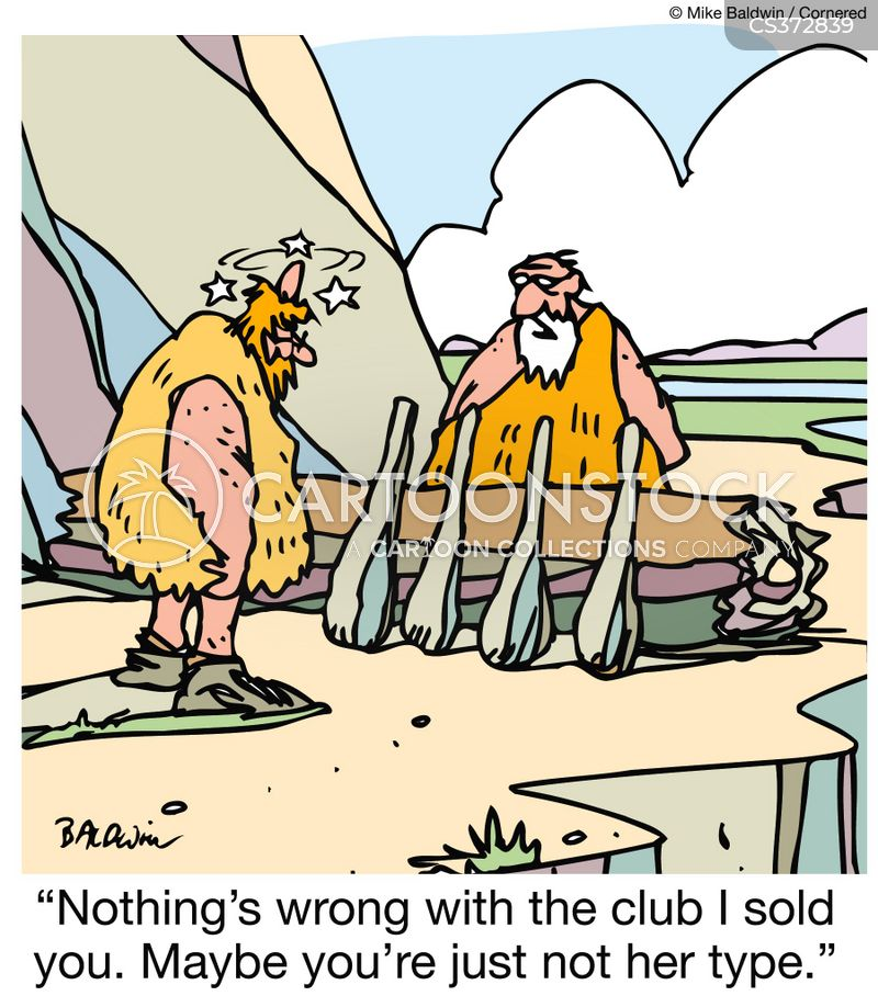 club scene cartoon