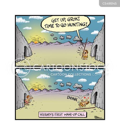 wakeup call cartoon