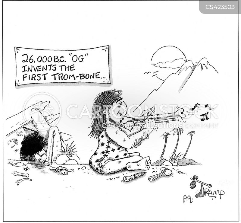 Trombone Cartoons and Comics - funny pictures from CartoonStock