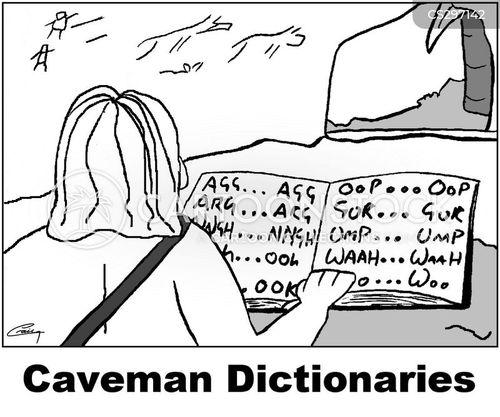 etymology cartoon