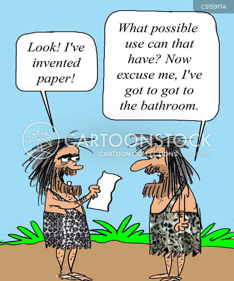 Now excuse me  I ve got to go to the bathroom. Useful Invention Cartoons and Comics   funny pictures from
