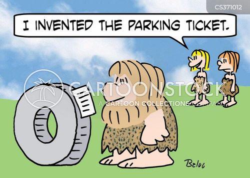 parking fees cartoon