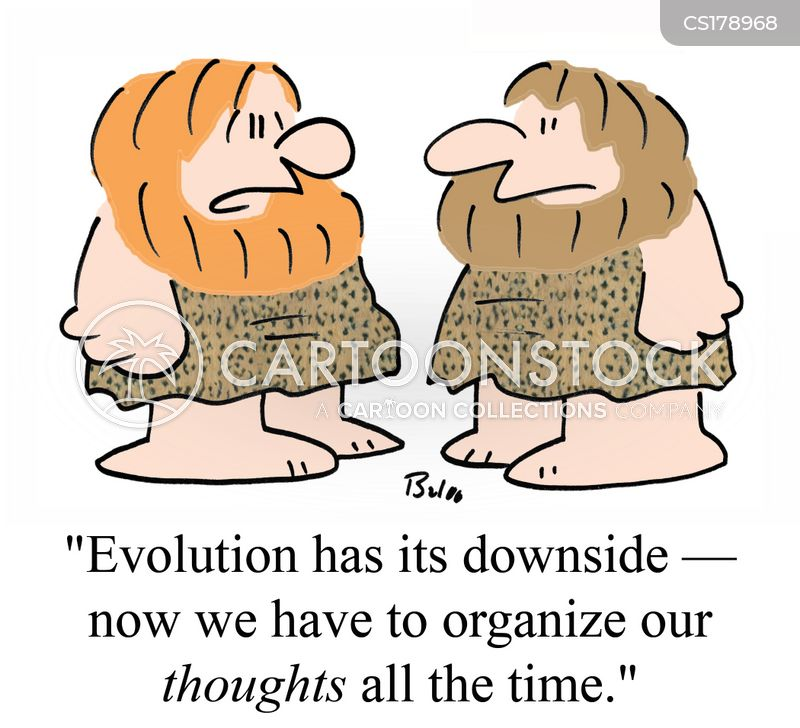 evolutions cartoon