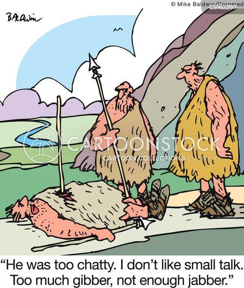 chattering cartoon