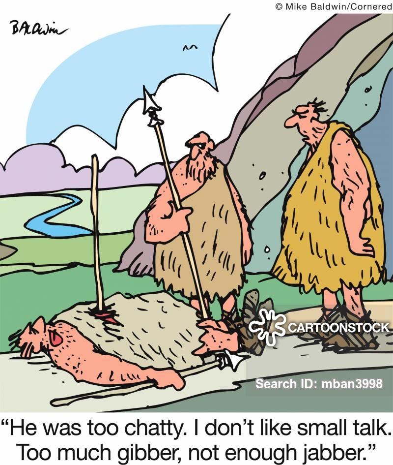 small talks cartoon