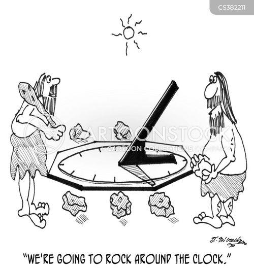 sundial cartoon