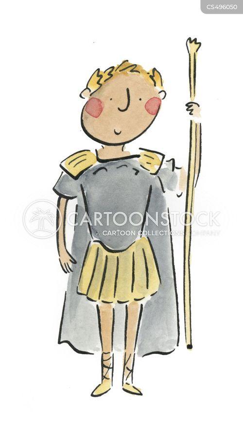 centurian cartoon