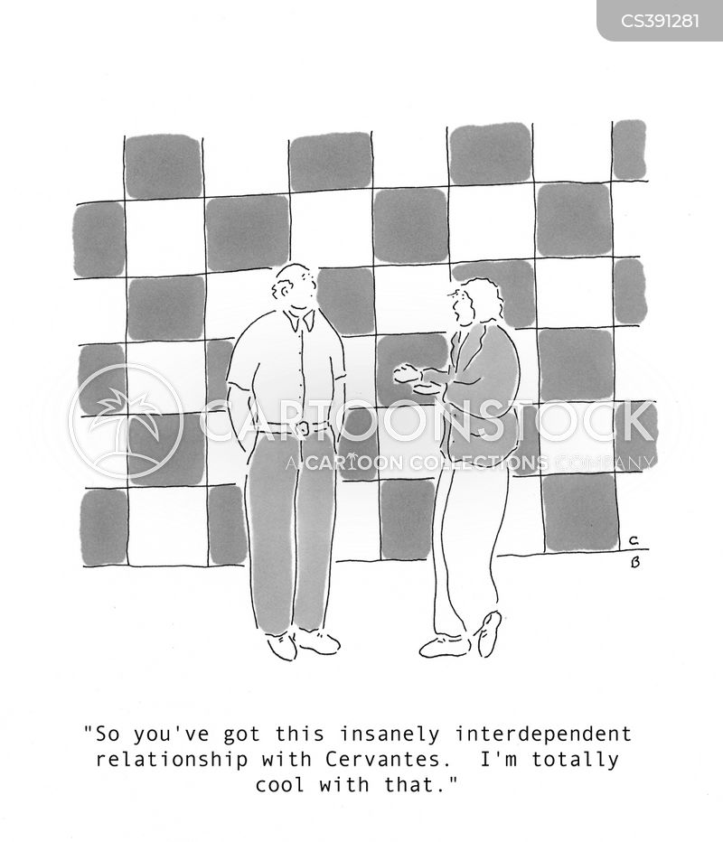 interdependent relationship cartoon