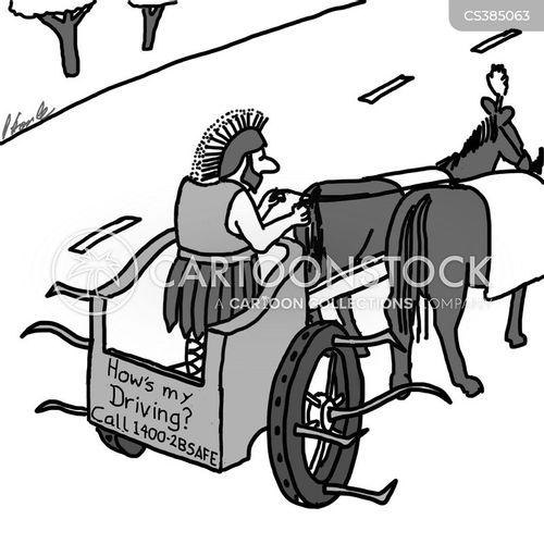 chariot cartoon