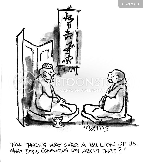 confucius cartoon