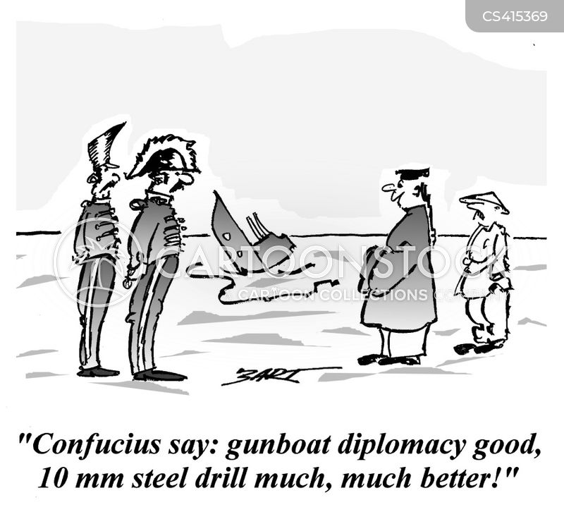 colonials cartoon