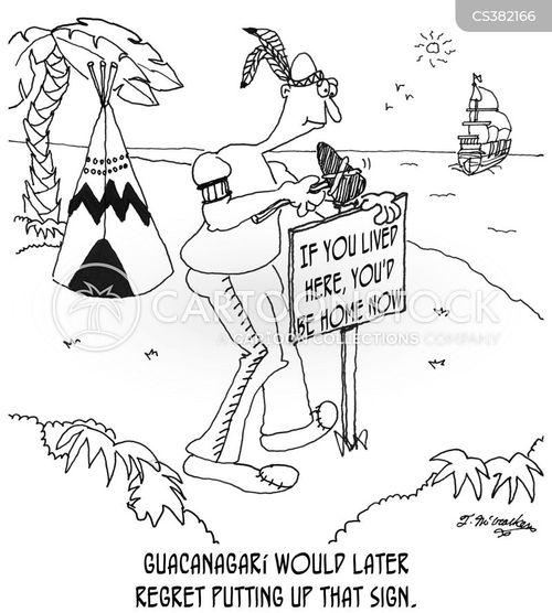 colonise cartoon
