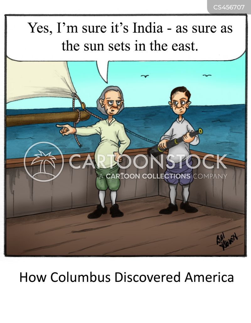 age of discovery cartoon