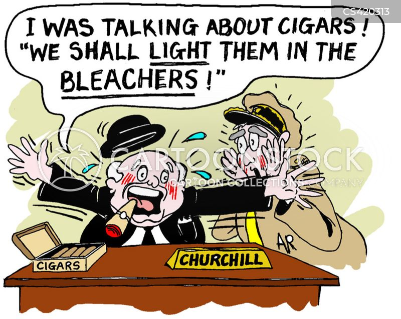 winston churchill cartoon