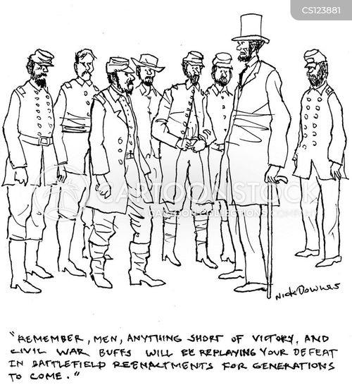 american civil war cartoon